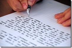 ecrire votre journal