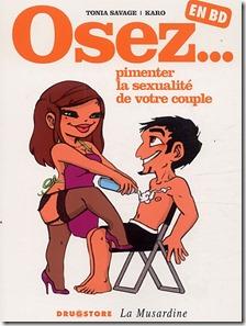 Osez pimenter la sexualité de votre couple en BD