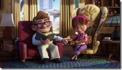 Carl et Ellie sont heureux