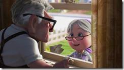 Carl et Ellie vieillissent ensemble
